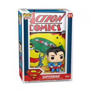 Superman: Superman Action Comics Pop Vinyl Comic Cover Figure