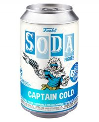 Flash: Captain Cold Vinyl Soda Figure (Limited Edition: 7,500 PCS)