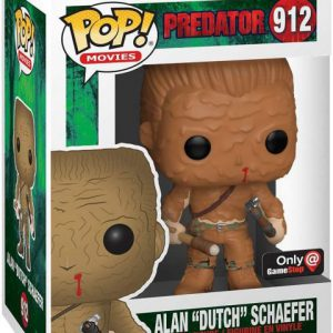 Predator: Dutch (Mud) Pop Figure (Gamestop Exclusive)