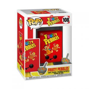 Ad Icons: Post Fruity Pebbles Cereal Box Pop Figure