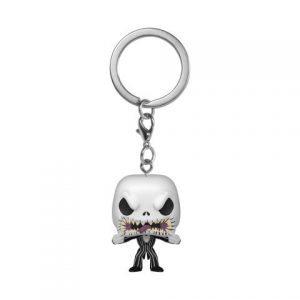 Key Chain: Nightmare Before Christmas - Jack (Scary Face) Pocket Pop