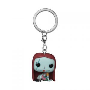 Key Chain: Nightmare Before Christmas - Sally Sewing Pocket Pop