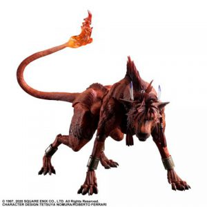 Final Fantasy VII Remake: Red XIII Play Arts Kai Action Figure