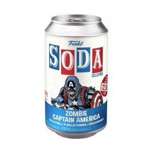 Marvel's What If?: Zombie Captain America Vinyl Soda Figure (Limited Edition: 12,500 PCS)
