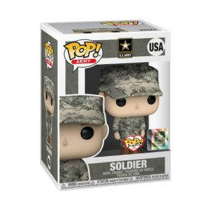 POP Military: Army Soldier Male - Fatigue C Pop Figure