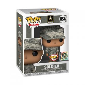 POP Military: Army Soldier Male - Fatigue H Pop Figure