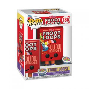 Ad Icons: Kelloggs - Froot Loops Cereal Box Pop Figure